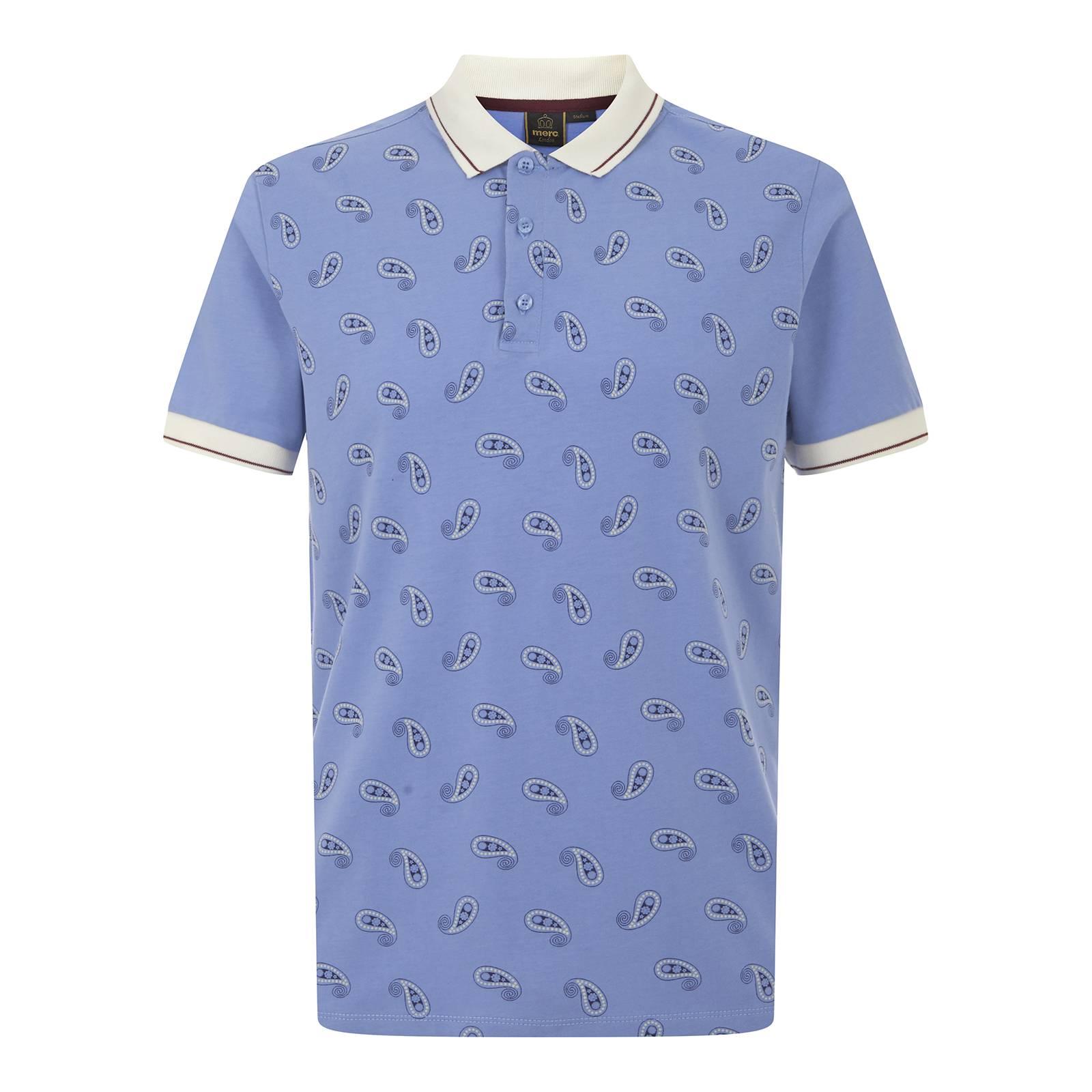 Рубашка Поло SamwellПоло<br><br><br>Артикул: 1916102<br>Материал: 100% хлопок<br>Цвет: голубой<br>Пол: Мужской