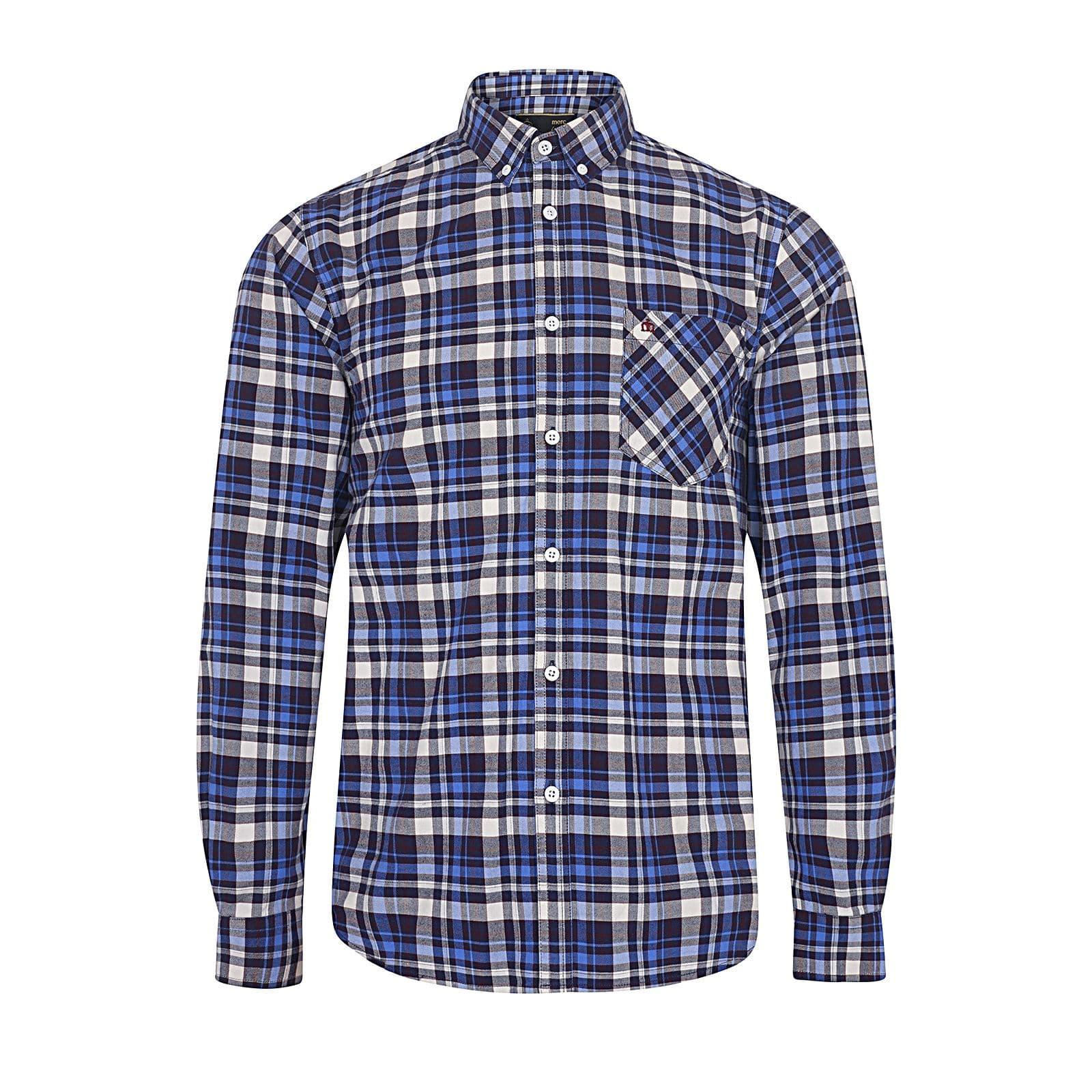 Рубашка GibbonsРубашки под заказ<br><br><br>Артикул: 1517209<br>Материал: 100% хлопок<br>Цвет: синий<br>Пол: Мужской