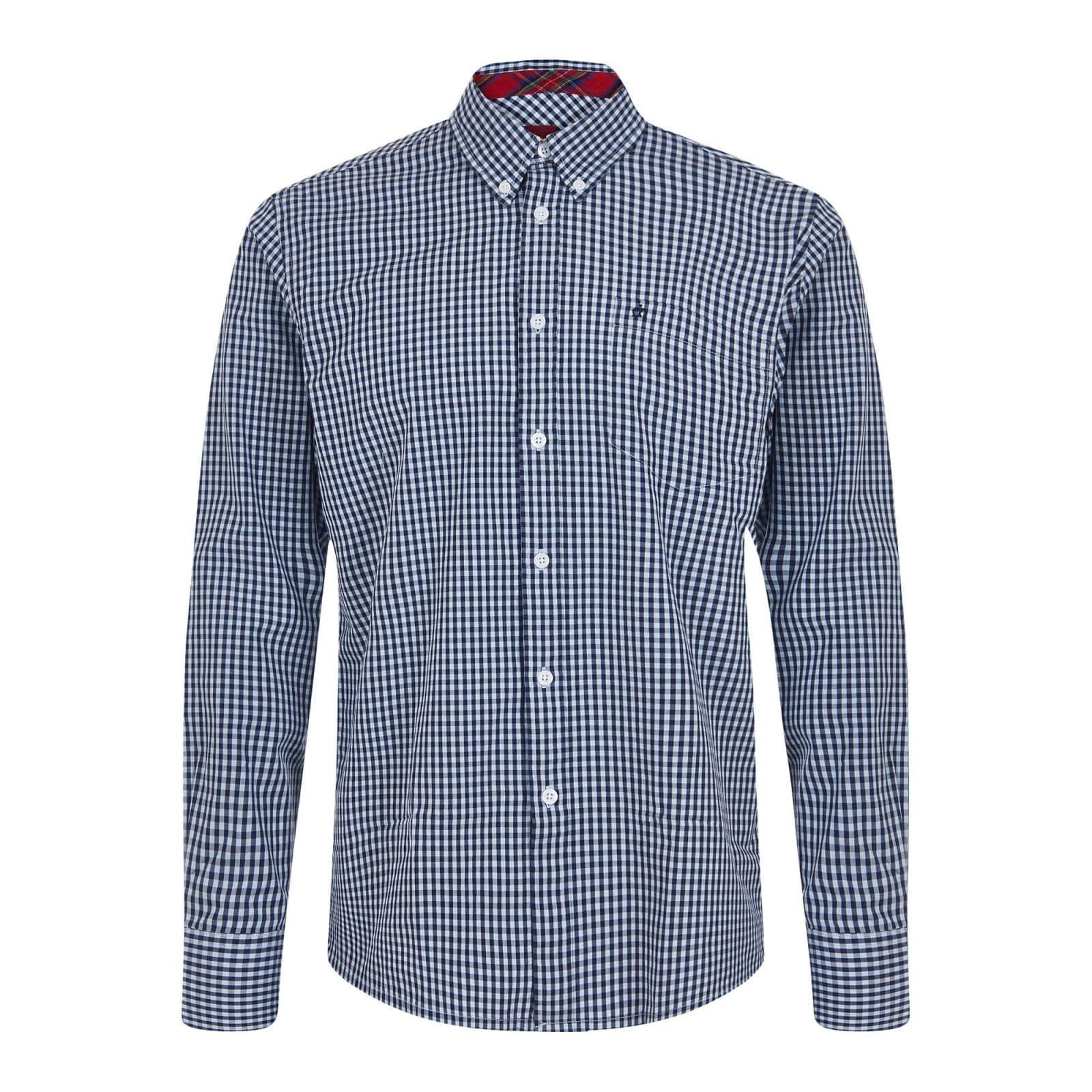 Рубашка JapsterРубашки под заказ<br><br><br>Артикул: 1506215<br>Материал: 100% хлопок<br>Цвет: сине-голубая клетка<br>Пол: Мужской