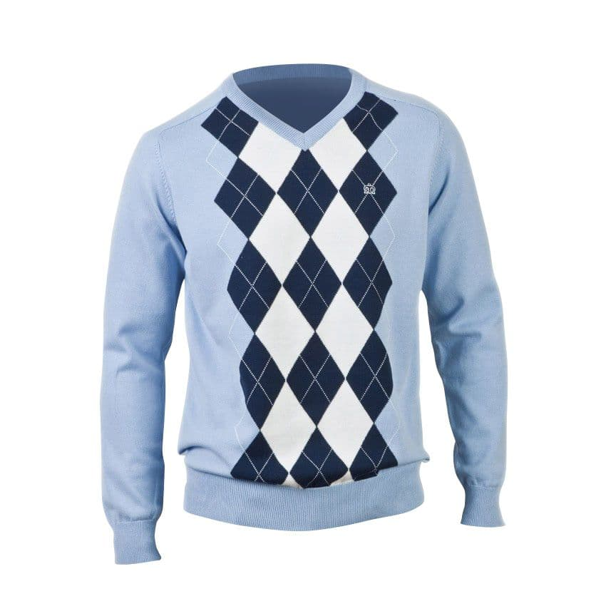 Пуловер RifleТрикотаж<br><br><br>Артикул: 1611101<br>Материал: 100% хлопок<br>Цвет: голубой<br>Пол: Мужской