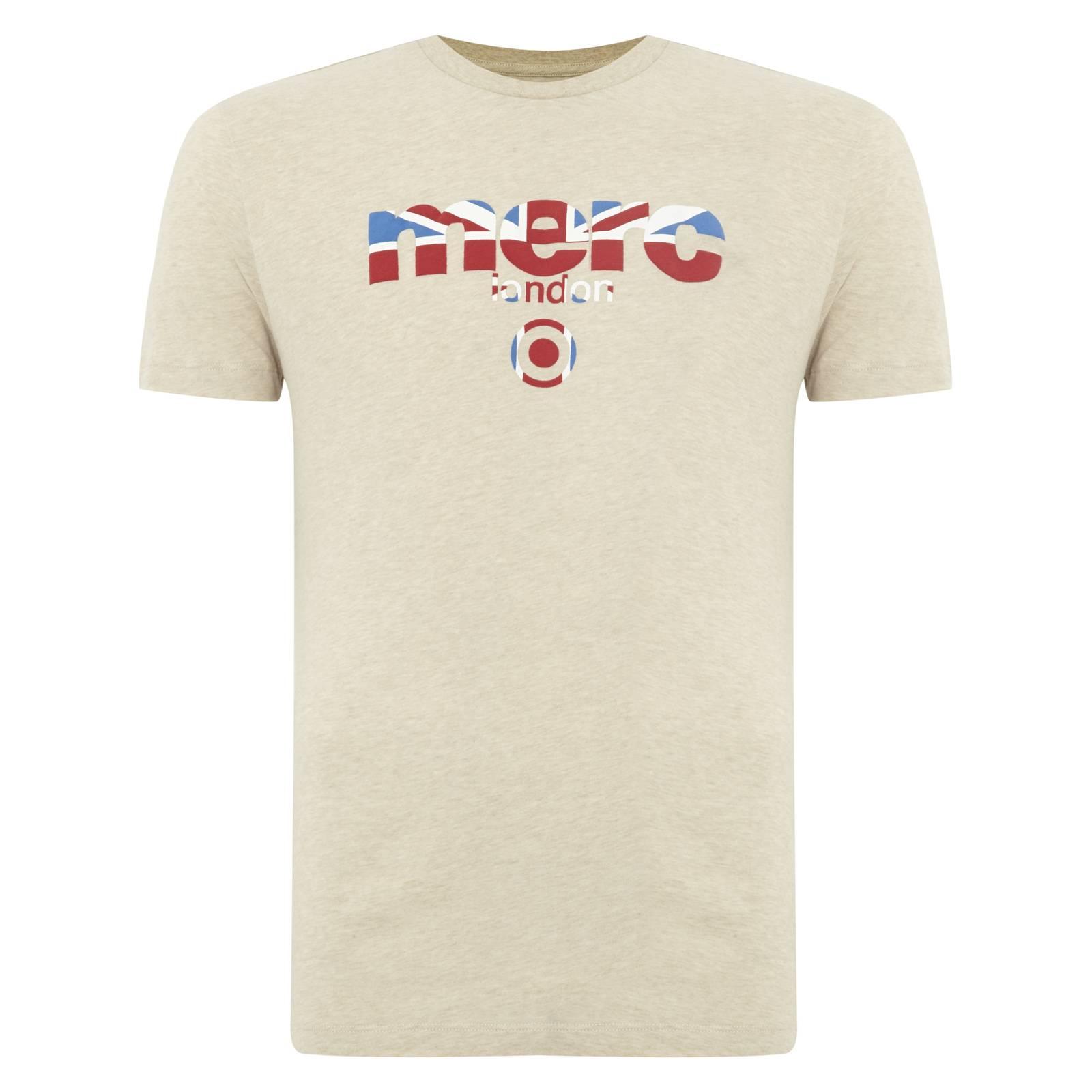 Футболка BroadwellCORE<br>Яркая футболка всесезонной базовой линии &amp;amp;quot;Core&amp;amp;quot; с классическим логотипом Merc, украшенным Union Jack. Высокое качество нанесения принта исключает его облезание в результате стирок. Трехцветный Британский флаг позволяет легко комбинировать эту футболку со множеством вариантов джинсов, шорт, обуви и брюк в различных цветовых решениях. Отлично сочетается с олимпийками, кардиганами и верхней одеждой. Произведено в Европейском Союзе<br><br>Артикул: 1709210<br>Материал: 100% хлопок<br>Цвет: бежевый<br>Пол: Мужской