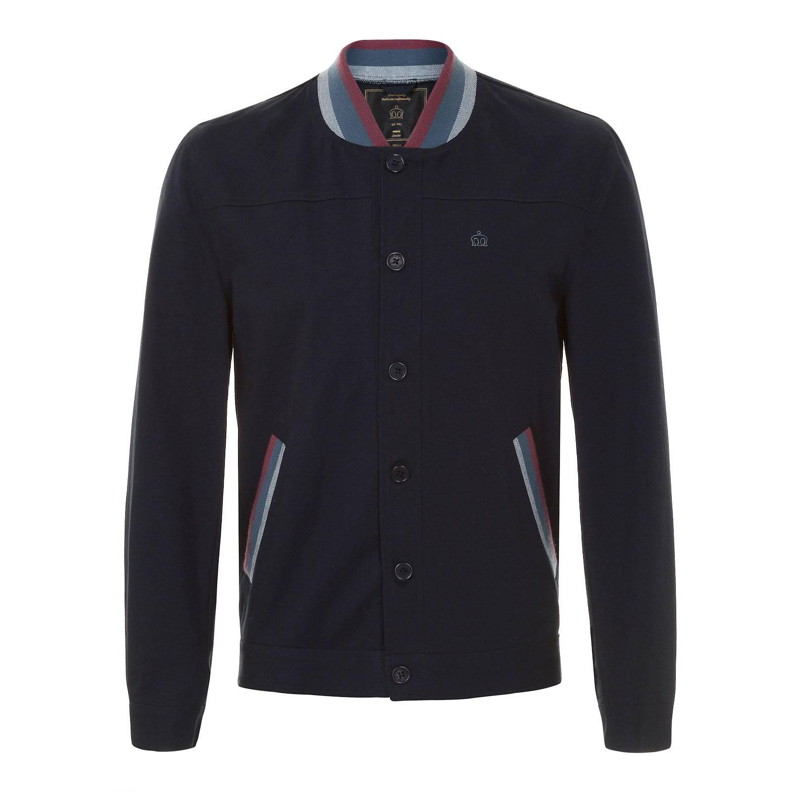 Куртка BuckroeВерхняя одежда<br><br><br>Артикул: 1115103<br>Материал: 100% хлопок<br>Цвет: темно-синий<br>Пол: Мужской