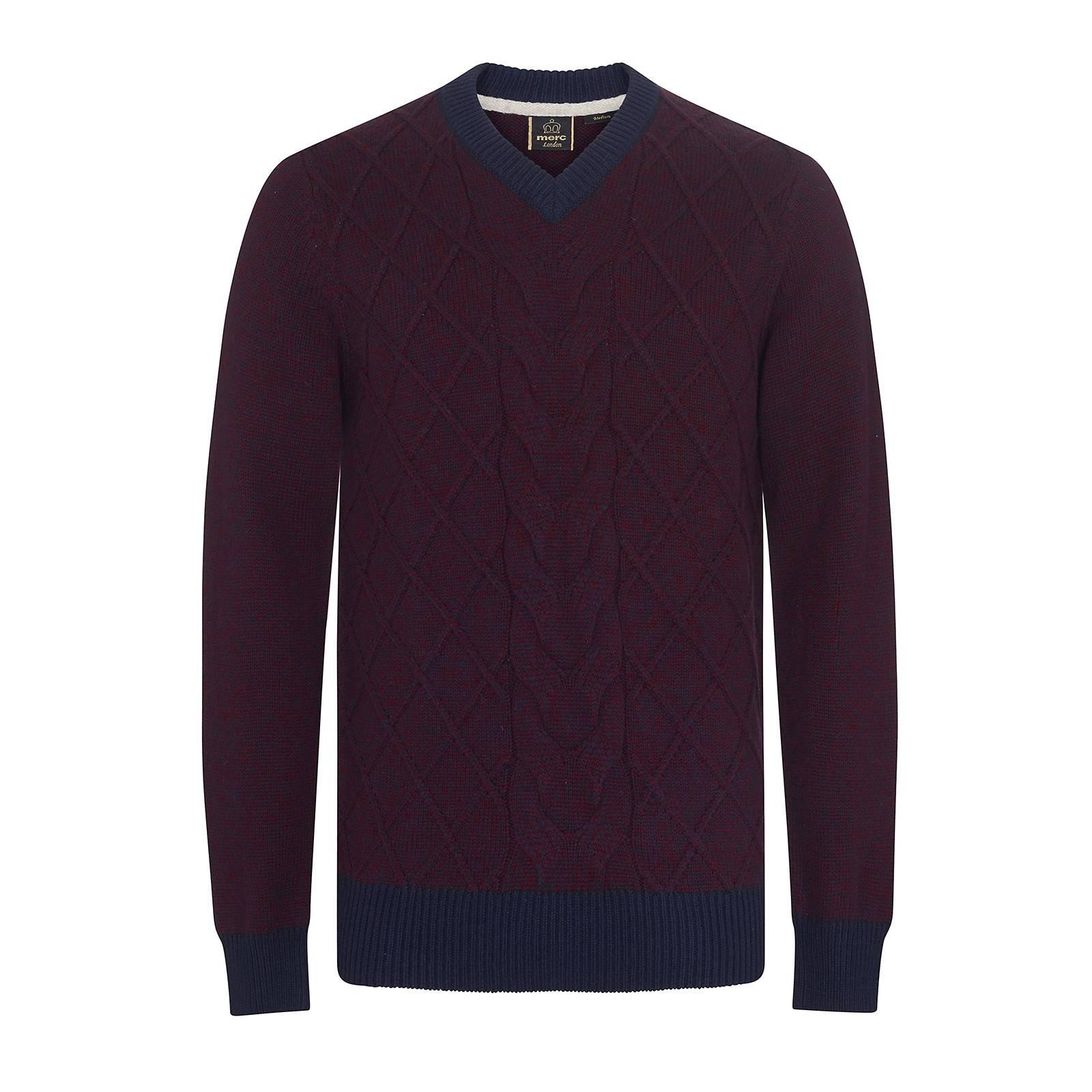 Пуловер HatcliffeПуловеры<br><br><br>Артикул: 1616209<br>Материал: 45% нейлон, 35% шерсть, 20% акрил<br>Цвет: бургунди<br>Пол: Мужской