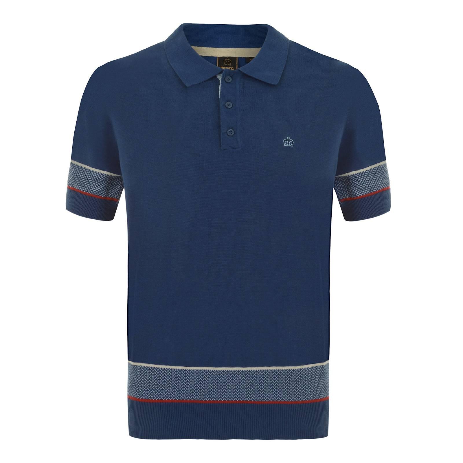 Рубашка Поло JunoПоло<br><br><br>Артикул: 1615103<br>Материал: 100% хлопок<br>Цвет: синий<br>Пол: Мужской