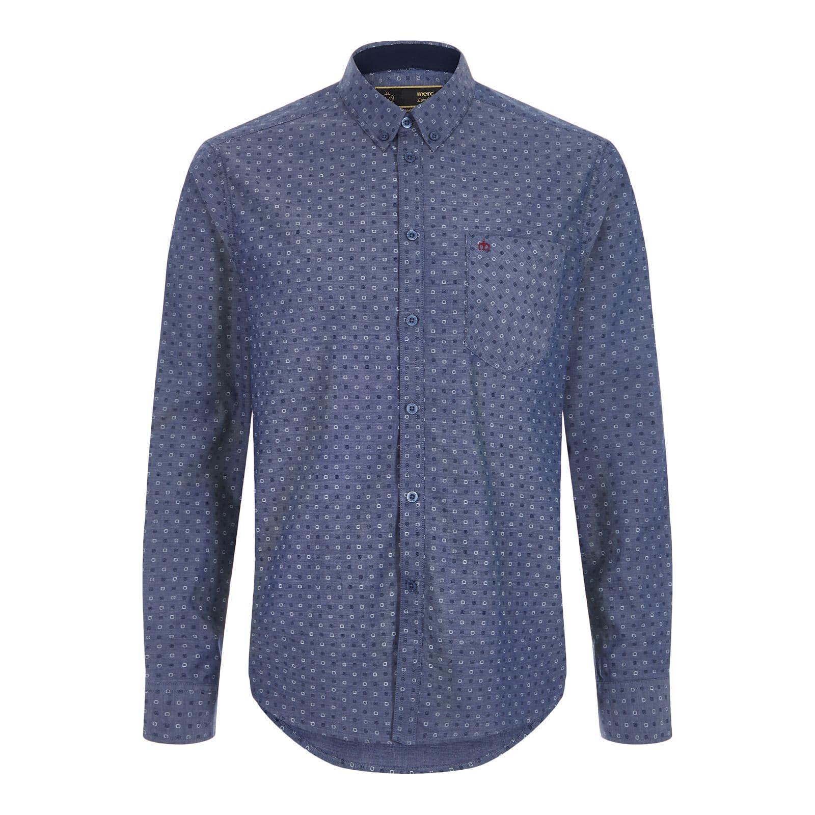 Рубашка NewarkРубашки под заказ<br><br><br>Артикул: 1517108<br>Материал: 100% хлопок<br>Цвет: синевато-серый<br>Пол: Мужской