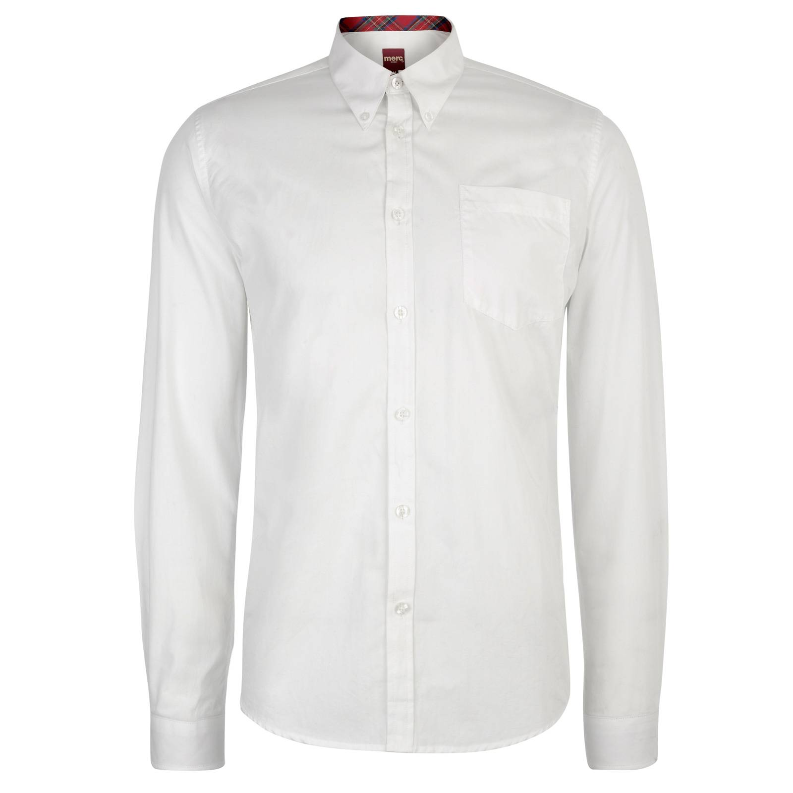 Рубашка AlbinCORE<br>Классическая однотонная рубашка приталенного фасона из легкого хлопкового материала. Традиционный воротник типа button-down пристегнут к основанию рубашки на пуговицы, что позволяет красиво сочетать ее с V-образным вырезом трикотажных изделий или пиджаком, не повязывая галстук. &amp;lt;br /&amp;gt;<br>&amp;lt;br /&amp;gt;<br>Манжеты изнутри украшены традиционным для британского стиля клетчатым узором &amp;amp;quot;тартан&amp;amp;quot;, превращающим эту рубашку из строгой в неформальную, если закатать рукава за кружечкой стаута в пабе после рабочего дня. Аналогичной тканью декорирована и внутренняя часть воротника - заметная искушенному глазу приятная контрастная деталь при расстегнутой верхней пуговице.&amp;lt;br /&amp;gt;<br>&amp;lt;br /&amp;gt;<br>Можно заправлять в брюки или носить на выпуск, чему способствует фигурный низ сорочки.<br><br>Артикул: 1506301<br>Материал: 100% хлопок<br>Цвет: белый<br>Пол: Мужской