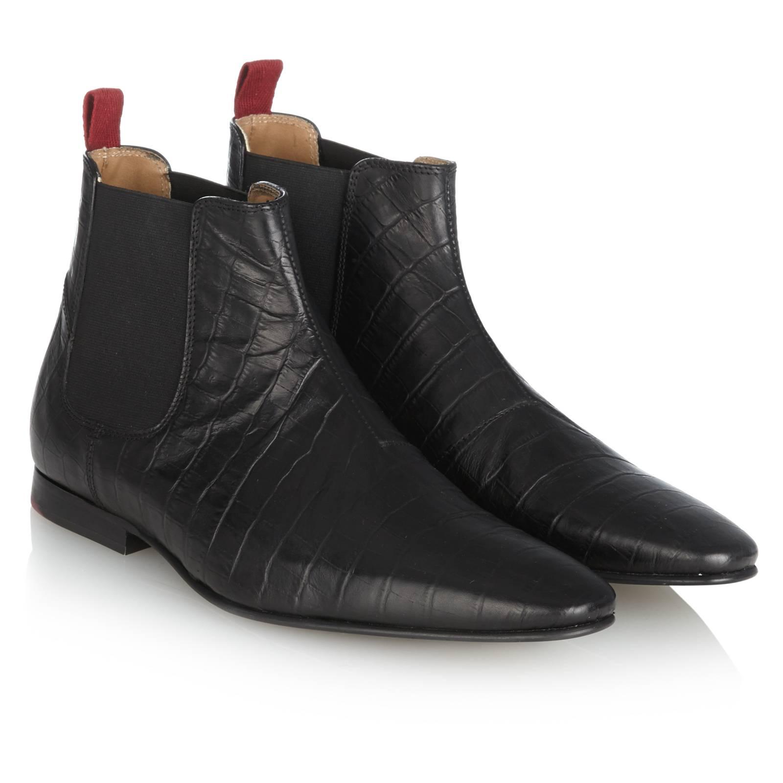 Обувь Челси Kensington II<br><br>Артикул: 0914104<br>Материал: 100% кожа<br>Цвет: черный<br>Пол: Мужской