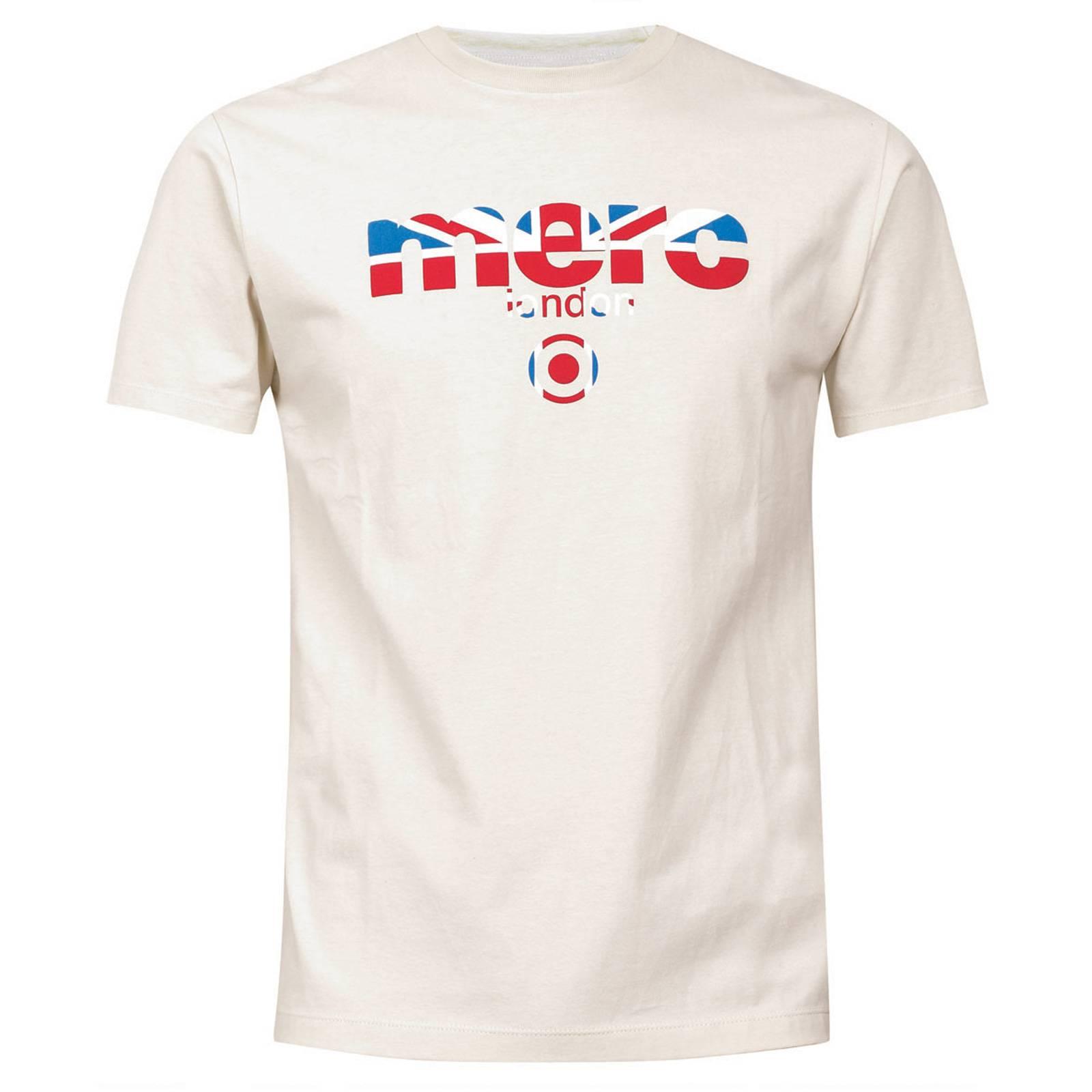 Футболка BroadwellФутболки<br>Яркая футболка всесезонной базовой линии &amp;amp;quot;Core&amp;amp;quot; с классическим логотипом Merc, украшенным Union Jack. Высокое качество нанесения принта исключает его облезание в результате стирок. Трехцветный Британский флаг позволяет легко комбинировать эту футболку со множеством вариантов джинсов, шорт, обуви и брюк в различных цветовых решениях. Отлично сочетается с олимпийками, кардиганами и верхней одеждой. Произведено в Европейском Союзе<br><br>Артикул: 1709210<br>Материал: 100% хлопок<br>Цвет: кремовый<br>Пол: Мужской