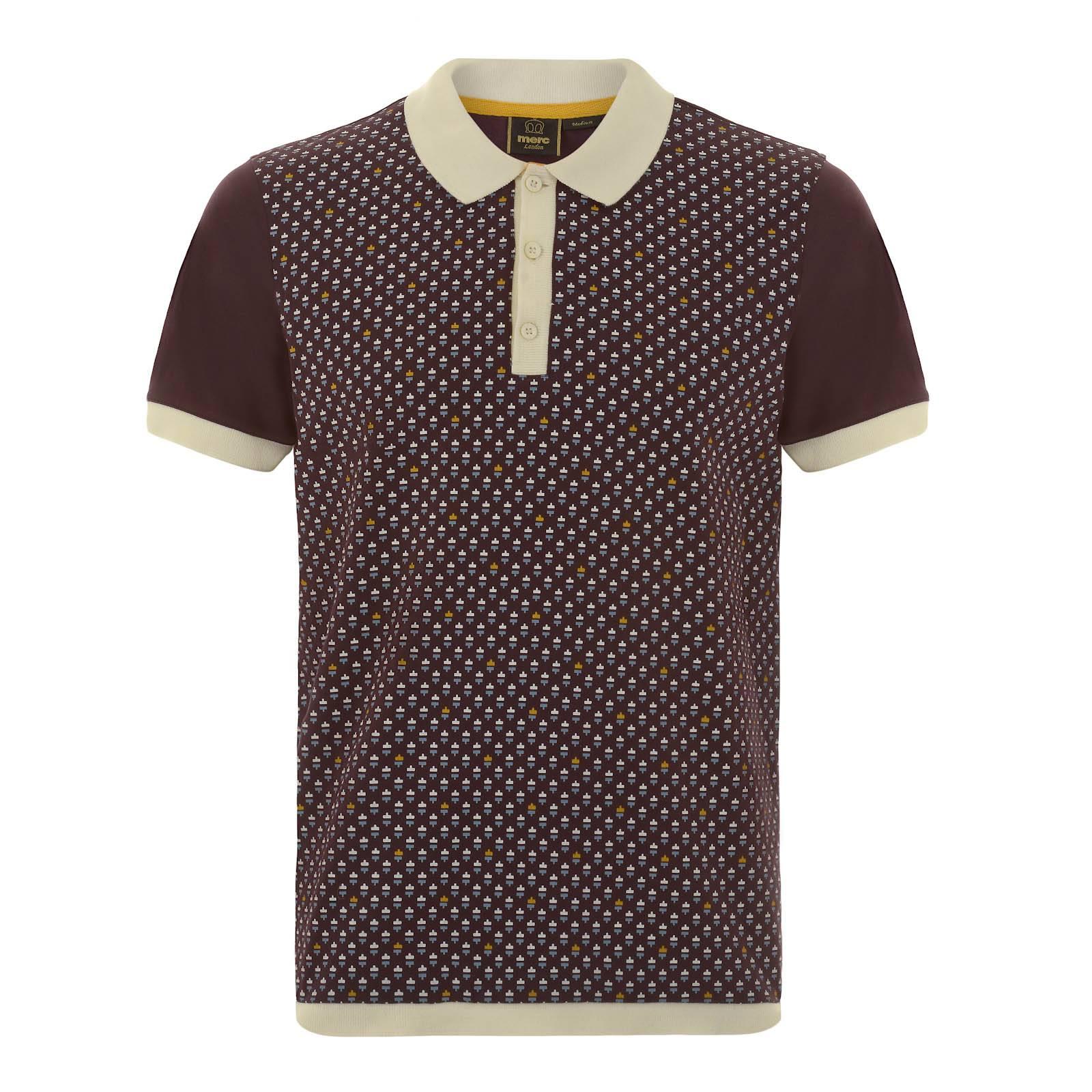 Рубашка Поло PanamaПоло<br>Мужское поло из легкой хлопчатобумажной ткани Джерси с необычным геометрическим принтом в ретро стиле. Контрастные манжеты, а также низ изделия выполнены эластичной трикотажной резинкой, благодаря которой достигается аккуратный приталенный фасон. Эту рубашку поло можно носить с джинсами, шортами или чиносами, лоферами, кедами или кроссовками, а её красивое цветовое решение подчеркнет жизнеутверждающий настрой гардероба сезона Весна-Лето.  Рекомендуется стирать в автоматическом режиме при температуре 30 градусов.<br><br>Артикул: 1915108<br>Материал: 100% хлопок<br>Цвет: ивово-коричневый<br>Пол: Мужской