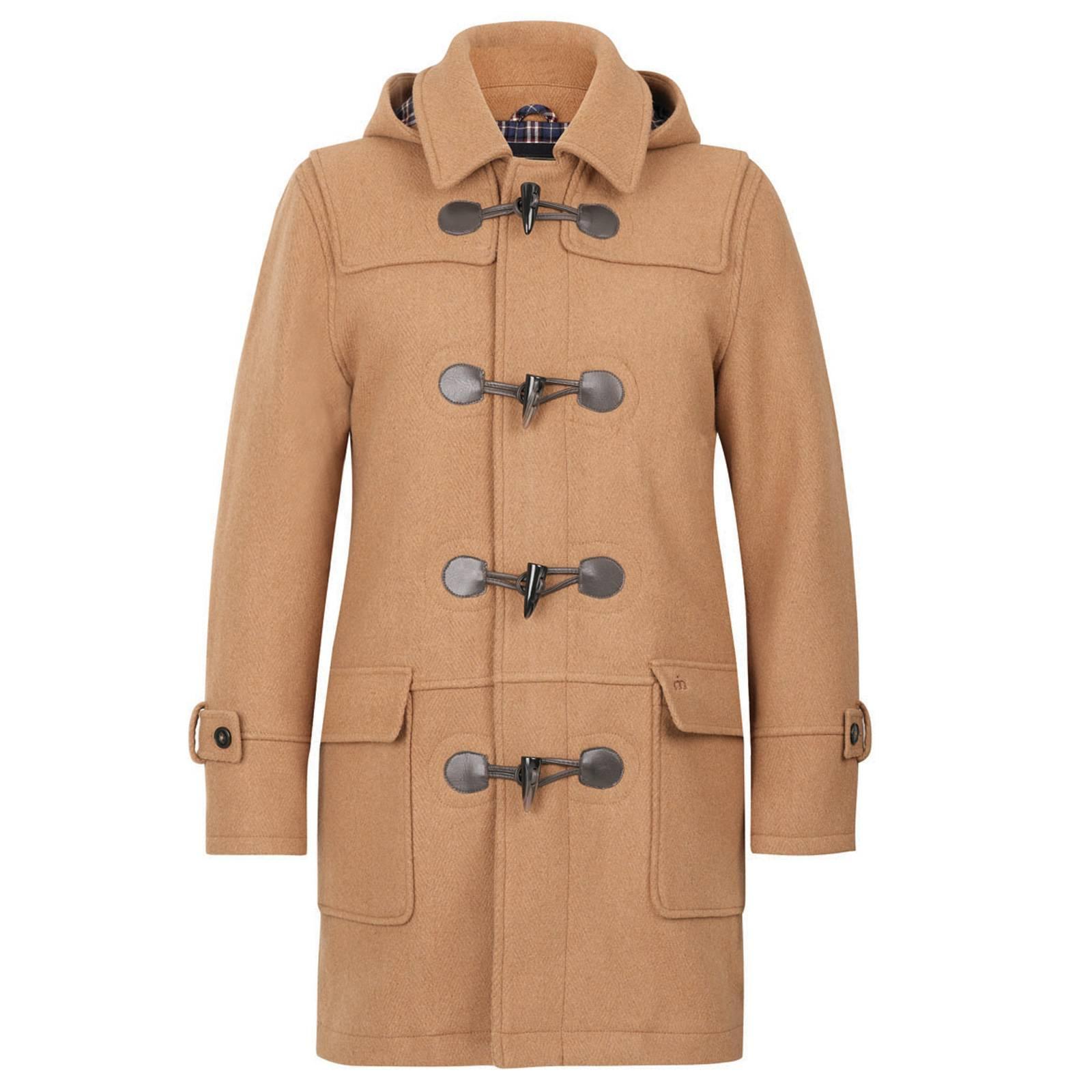 Дафлкот BluefieldMidwinter Sale<br>Аутентичное пальто-дафлкот прямого силуэта из толстой шерстяной ткани, с отстегивающимся капюшоном и хлопковой подкладкой орнамента &amp;amp;quot;тартан&amp;amp;quot;, выполненный в лучших классических традициях дизайна и производства этой легендарной модели casual гардероба, перекочевавшей в повседневную моду из униформы Британского Королевского флота времен Первой мировой войны. &amp;lt;br /&amp;gt;<br>&amp;lt;br /&amp;gt;<br>Благодаря плотной, сохраняющей тепло основе, выдерживает практически любые морозы, несмотря на отсутствие утеплителя. Его можно носить с джинсами или брюками, одевать поверх костюма на работу или с трикотажем и обувью типа Desert Boots. Непромокаемый и непродуваемый дафлкот Merc прослужит вам верой и правдой долгие годы.&amp;lt;br /&amp;gt;<br>&amp;lt;br /&amp;gt;<br>Об истории дафлкота мы рассказали в Блоге.<br><br>Артикул: 1112201<br>Материал: 70% шерсть 30% нейлон<br>Цвет: верблюжий<br>Пол: Мужской