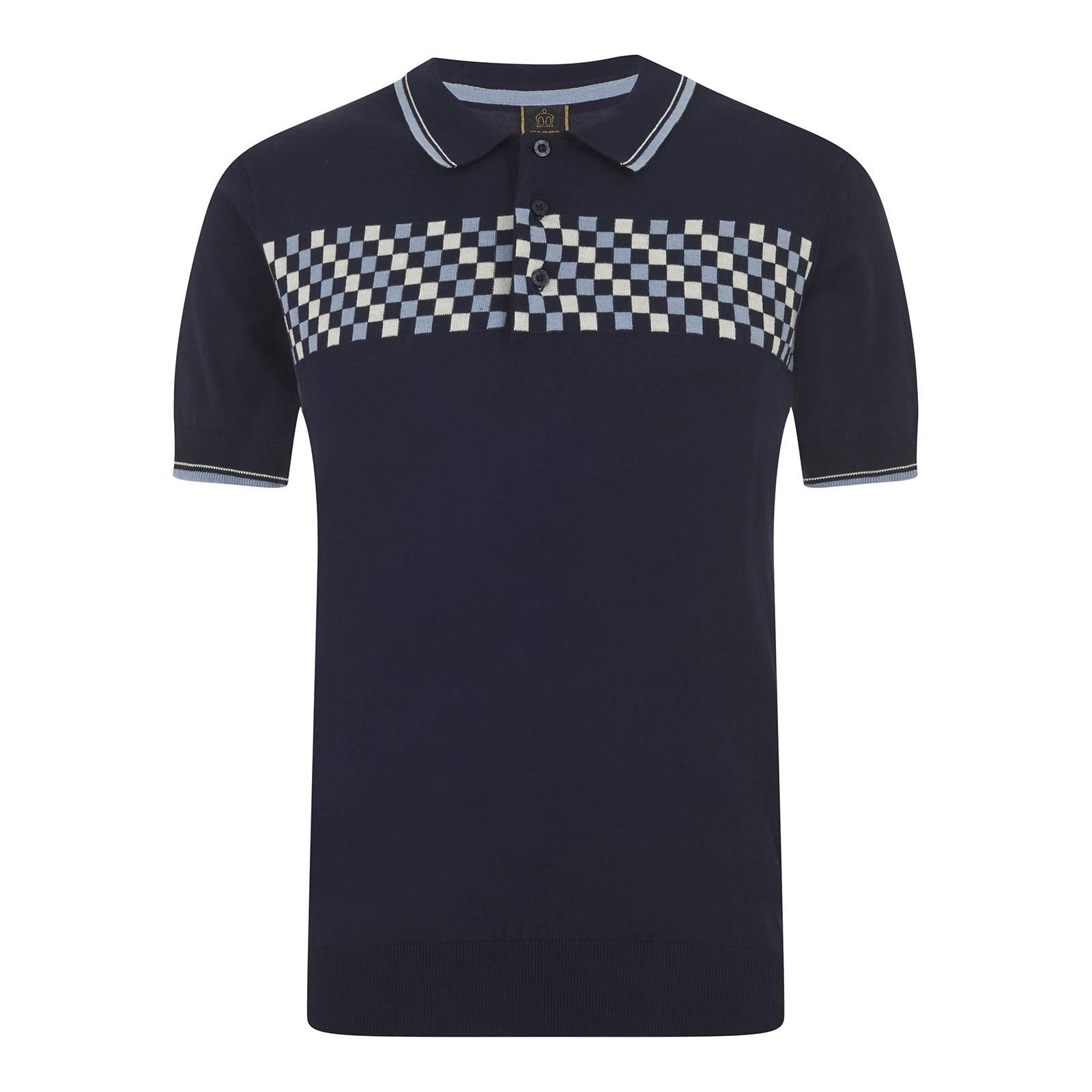 Рубашка Поло IdanПоло<br><br><br>Артикул: 1616103<br>Материал: 100% хлопок<br>Цвет: темно-синий<br>Пол: Мужской