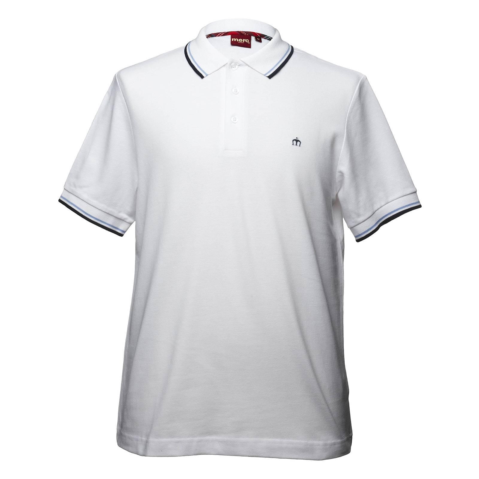 Рубашка Поло CardRude Boy by Merc<br>Эта легендарная, выпускаемая на протяжении десятилетий модель базовой линии &amp;amp;quot;Core&amp;amp;quot; производится из высококачественной хлопковой ткани &amp;amp;quot;пике&amp;amp;quot; - прочной и долговечной. Аккуратный логотип в виде короны привносит аристократизм, контрастные полосы на воротнике и манжетах подчеркивают силуэт, а широкая цветовая палитра поможет подобрать ключ к любому гардеробу - от различного фасона джинсов и брюк до строгой обуви или кроссовок. Нестареющая классика от Merc - традиции и современность.<br><br>Артикул: 1906203<br>Материал: 100% хлопок<br>Цвет: белый<br>Пол: Мужской