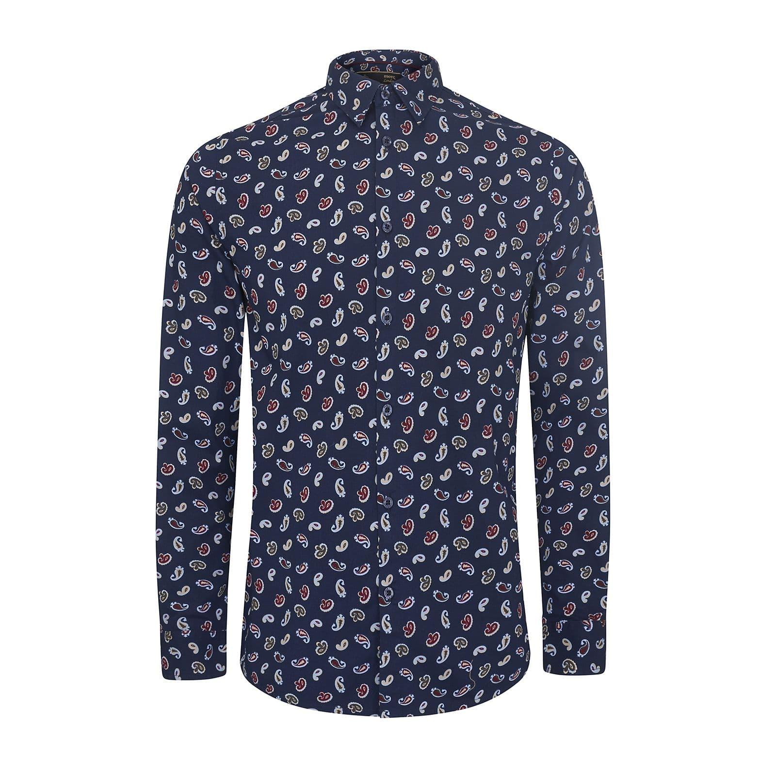 Рубашка AlanРубашки под заказ<br><br><br>Артикул: 1517201<br>Материал: 100% хлопок<br>Цвет: синий<br>Пол: Мужской