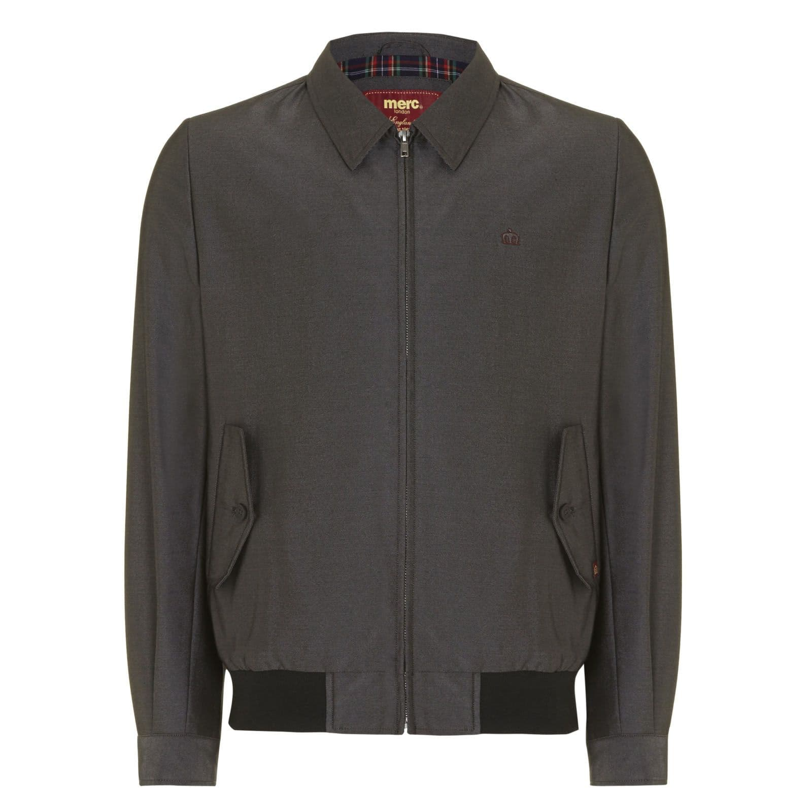 Куртка Харрингтон DudleyКуртки под заказ<br><br><br>Артикул: 1114204<br>Материал: 77% полиэстер, 23% район. Подкладка - 35% хлопок, 65% полиэстер<br>Цвет: темно-серый<br>Пол: Мужской