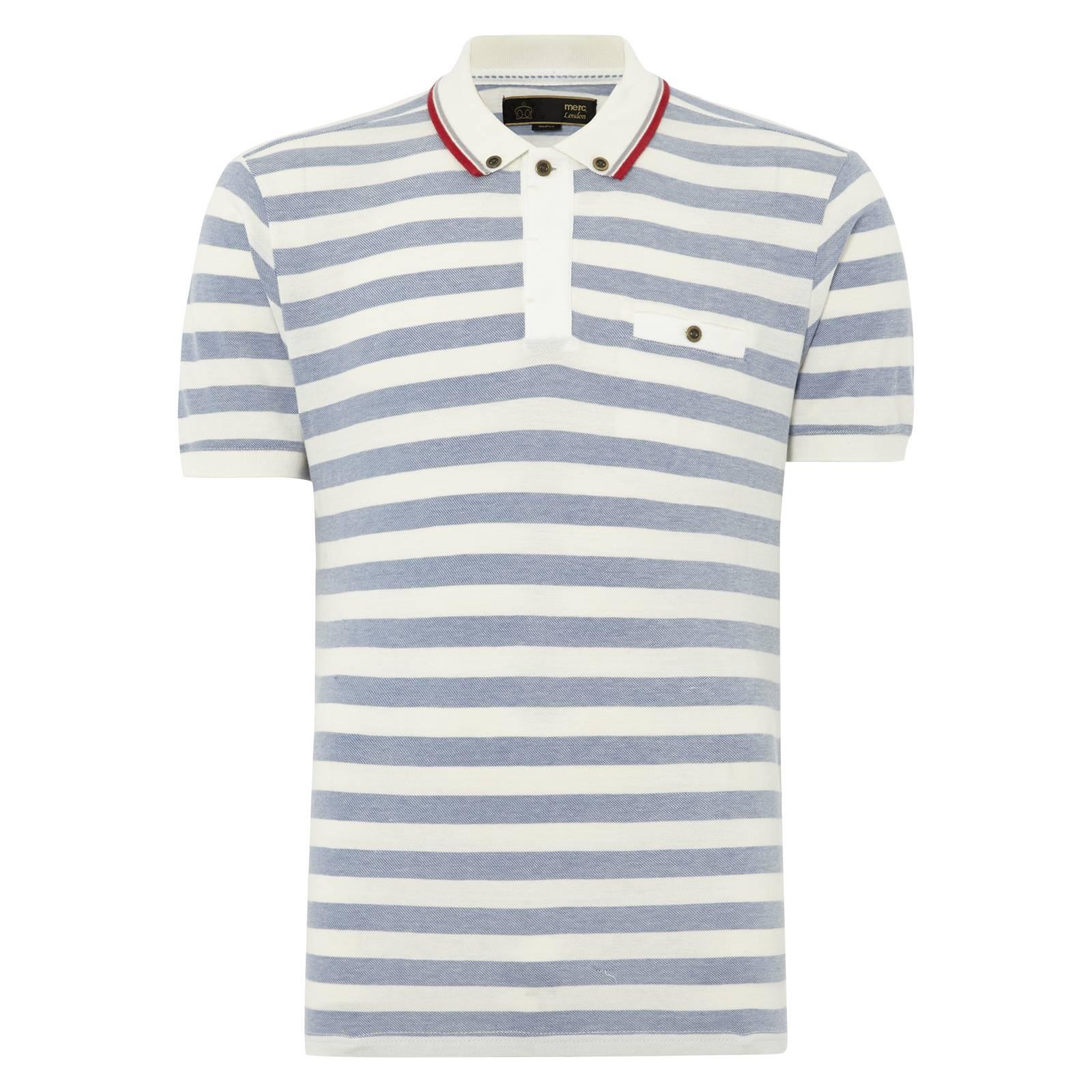 Рубашка Поло GuilioПоло<br>Кэжуальная рубашка-поло из хлопка-пике с воротником на пуговицах «button-down» и небольшим нагрудным карманом. Обрамление рукавов выполнено облегающей трикотажной резинкой. В сине-белом варианте отсылает к всегда актуальной морской тематике и стилю яхтинг. Желтые тона прекрасно созвучны летнему настроению.<br><br>Артикул: 1914108<br>Материал: 100% хлопок<br>Цвет: белый в голубую полоску<br>Пол: Мужской