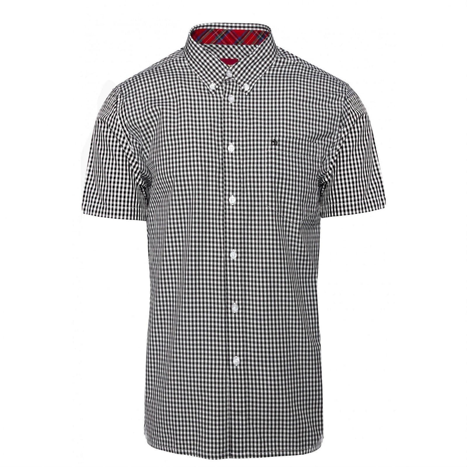 Рубашка TerryКлассические<br>Эта классическая, приталенная рубашка всесезонной базовой линии CORE производится почти в неизменном виде на протяжении десятилетий, символизируя верность Merc своему полувековому наследию и исконному casual стилю. &amp;lt;br /&amp;gt;<br>&amp;lt;br /&amp;gt;<br>Традиционная мелкая двухцветная английская клетка прекрасно сочетается с большинством легких курток, тренчей и парок. Визитная карточка рубашек Merc - воротник &amp;amp;quot;button-down&amp;amp;quot; на пуговицах - делает ее идеальной для комбинации с V-neck свитерами, жилетами и кардиганами.&amp;lt;br /&amp;gt;<br>&amp;lt;br /&amp;gt;<br>Прямой низ позволяет с комфортом заправлять эту рубашку в брюки, джинсы или шорты, хотя ее можно носить и на выпуск: под курткой, блейзером или саму по себе. &amp;lt;br /&amp;gt;<br><br>Артикул: 1507108<br>Материал: 100% хлопок<br>Цвет: черно-белая клетка<br>Пол: Мужской