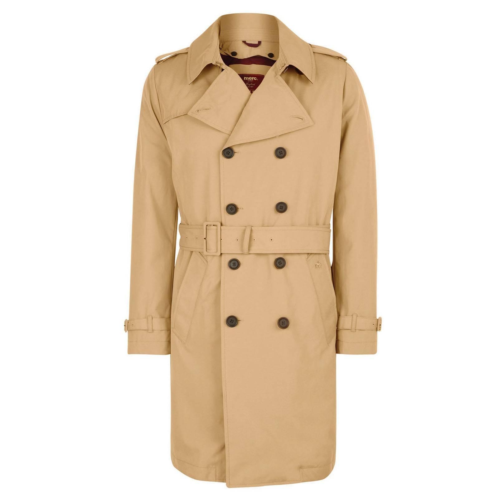 Тренчкот MulliganВерхняя одежда<br>Классический мужской тренчкот - непромокаемый двубортный плащ с поясом, широким отложным воротником, затягивающимися ремешками на рукавах и погонами - переосмысление легендарной исторической модели траншейного пальто в аутентичном дизайне, дополненном современными деталями. Традиционный светло-горчичный цвет подчеркивает благородную английскую родословную этого превосходного тренча. Стеганая подкладка темно-алого цвета утеплена тонкой прослойкой синтепона и является съемной, продлевая сезон использования. Вощеная, водоотталкивающая ткань, двойная кокетка на спине, дополнительный клапан на правом плече, позволяющий надежно запахнуть ворот, а также металлическая застежка на шее служат эффективной защитой от дождя и ветра. Контрастная, в цвет подкладки, отделка внутренней части воротника добавляет ему эффекта в поднятом виде. Брендирован фирменными надписями на крупных пуговицах и традиционным логотипом Корона, вышитом на широкой планке левого прорезного кармана. Оснащен двумя внутренними карманами. Идеально сочетается с бордовой рубашкой polka-dot, голубой button-down рубашкой gingham, зауженными синими брюками Sta-Prest, коричневыми или рыжими Челси бутс. Подстёжка: 100% хлопок.<br><br>Артикул: 1113201<br>Материал: 44% хлопок, 39% полиэстер, 17% нейлон<br>Цвет: песочный<br>Пол: Мужской