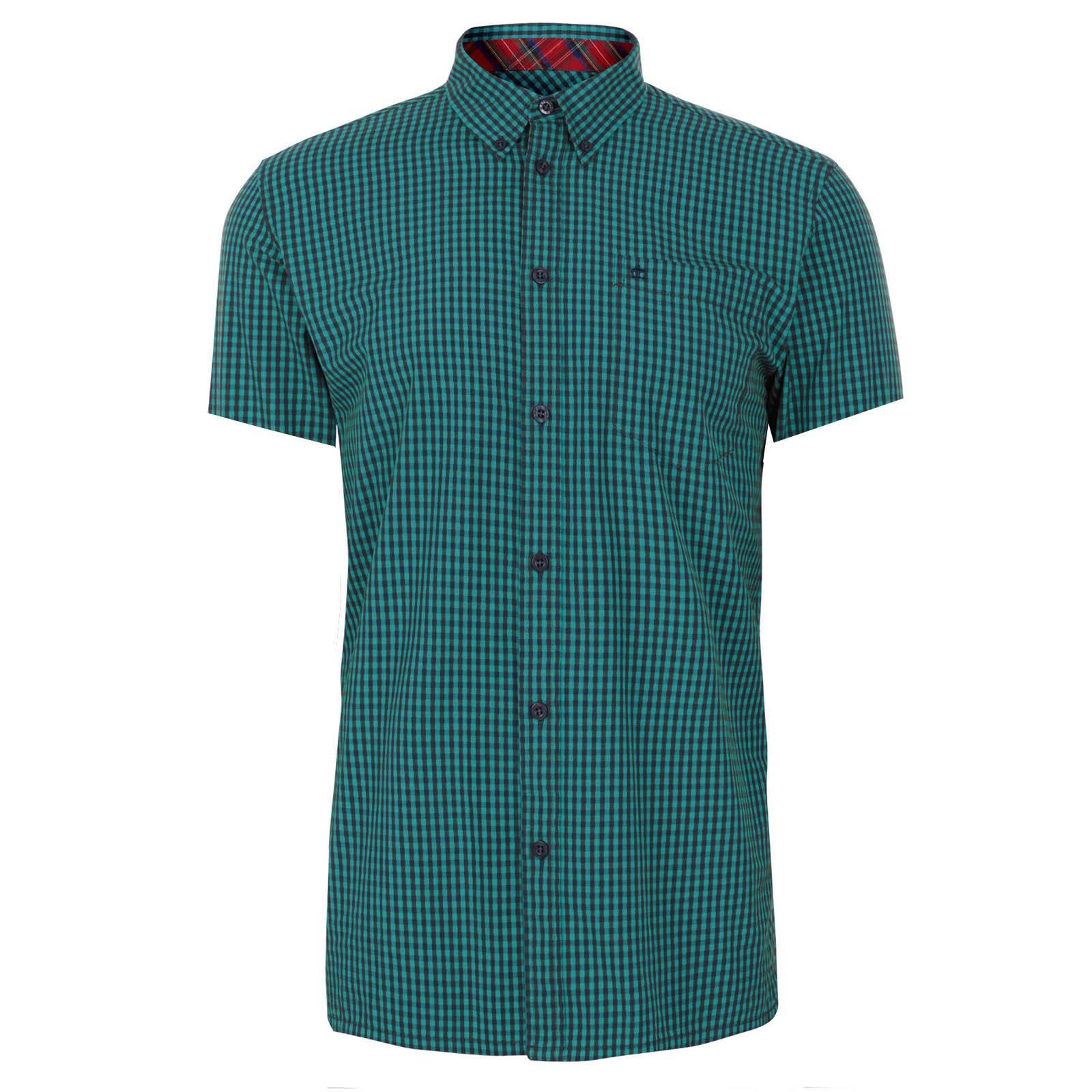Рубашка TerryCORE<br><br><br>Артикул: 1570108<br>Материал: 100% хлопок<br>Цвет: сине-зеленая клетка<br>Пол: Мужской