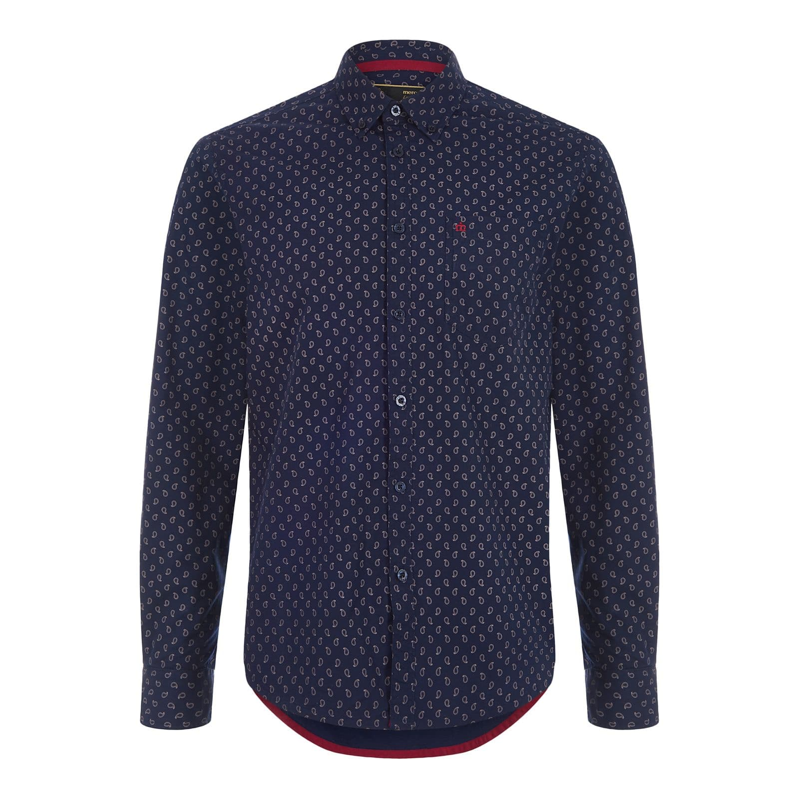Рубашка LennoxРубашки под заказ<br><br><br>Артикул: 1517107<br>Материал: 100% хлопок<br>Цвет: синий<br>Пол: Мужской