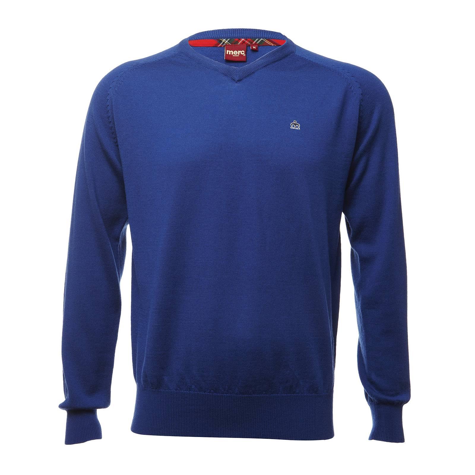 Пуловер ConradCORE<br><br><br>Артикул: 1606203<br>Материал: 100% шерсть<br>Цвет: королевский синий<br>Пол: Мужской