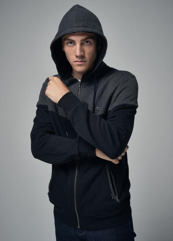 Thames Hooded Track Top