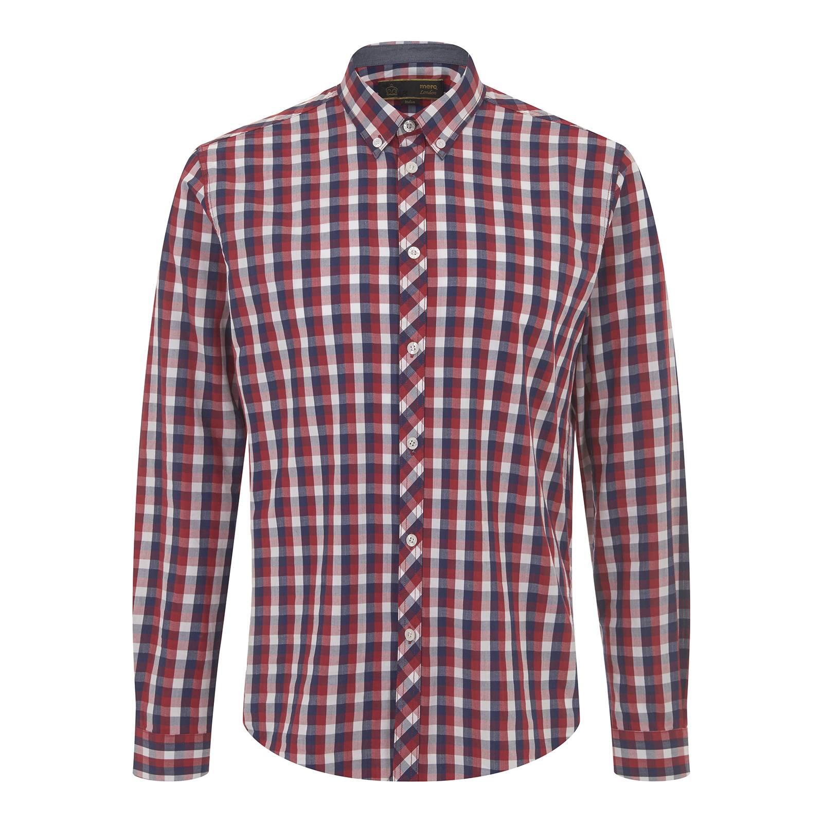 Рубашка ArtistaРубашки<br><br><br>Артикул: 1516111<br>Материал: 100% хлопок<br>Цвет: красно-сине-белая клетка<br>Пол: Мужской