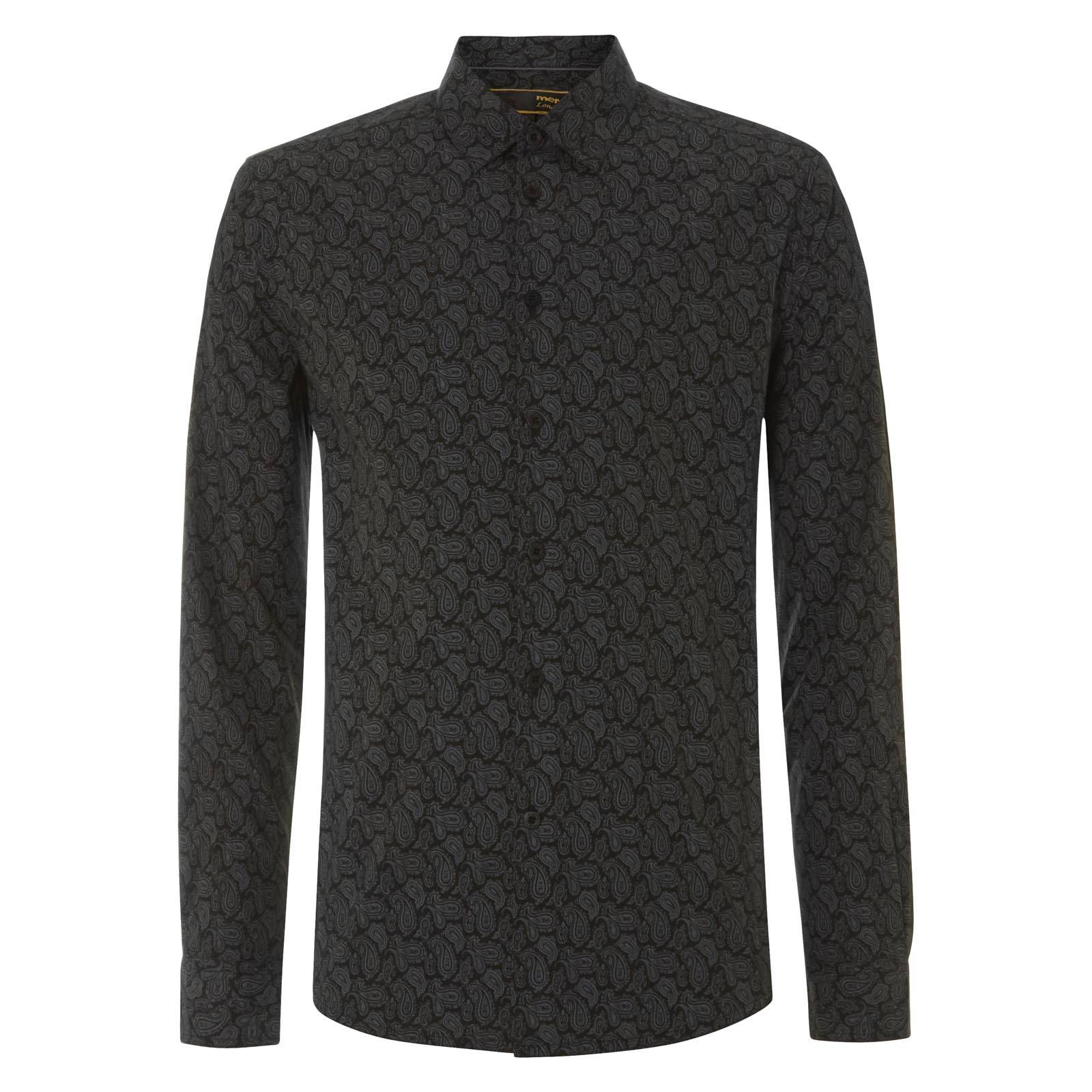 Рубашка YorkРубашки<br><br><br>Артикул: 1514202<br>Материал: 100% хлопок<br>Цвет: черный<br>Пол: Мужской