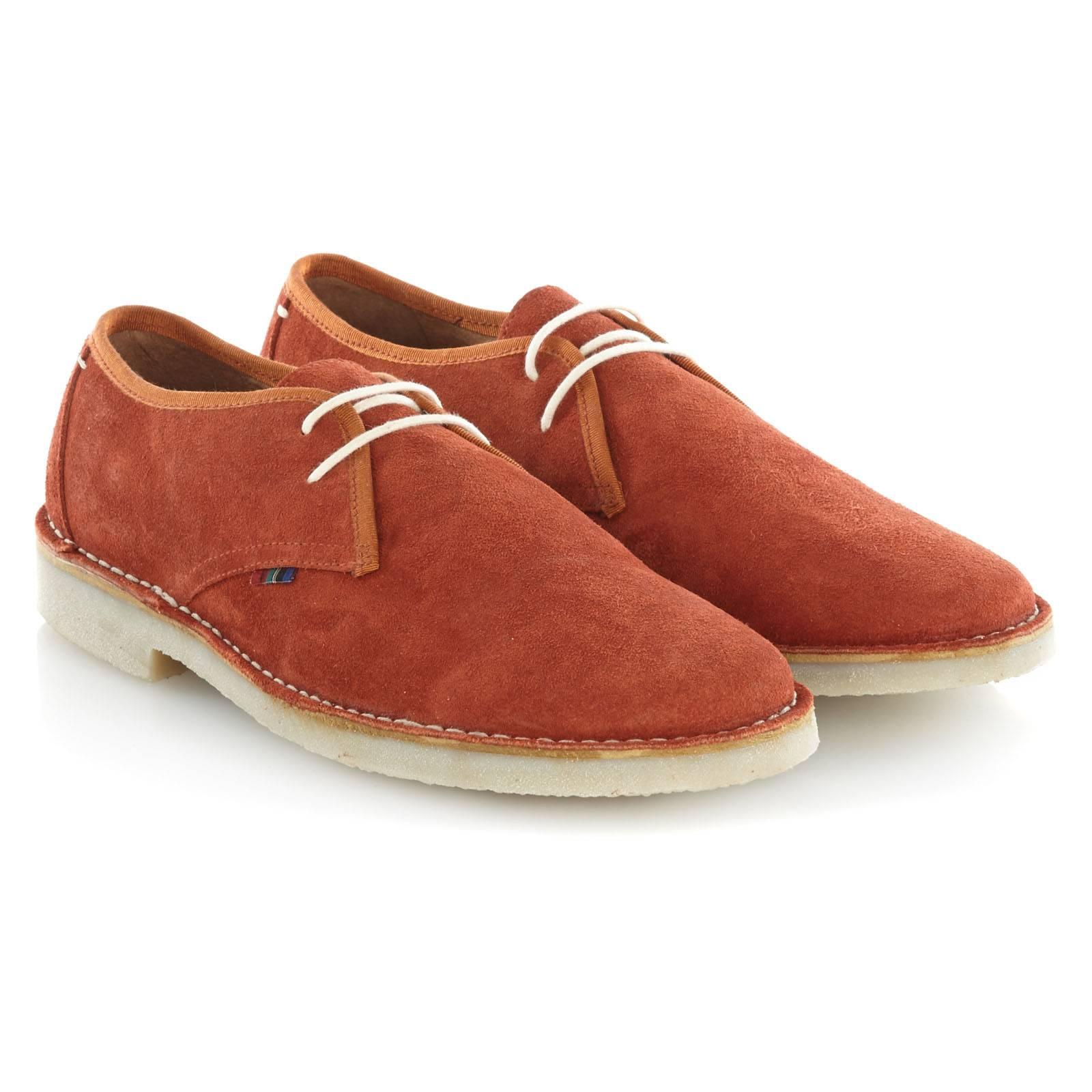Ботинки TooleyОбувь<br>Укороченный вариант легендарной модели Desert Boots: легкие и удобные полуботинки из высококачественной замши. Благодаря гибкой резиновой подошве практически не чувствуются на ноге. Отличная обувь на позднюю весну и летний сезон. Хорошо сочетаются с чиносами и шортами.<br><br>Артикул: 913212<br>Материал: 100% кожа (замша)<br>Цвет: оранжевый<br>Пол: Мужской