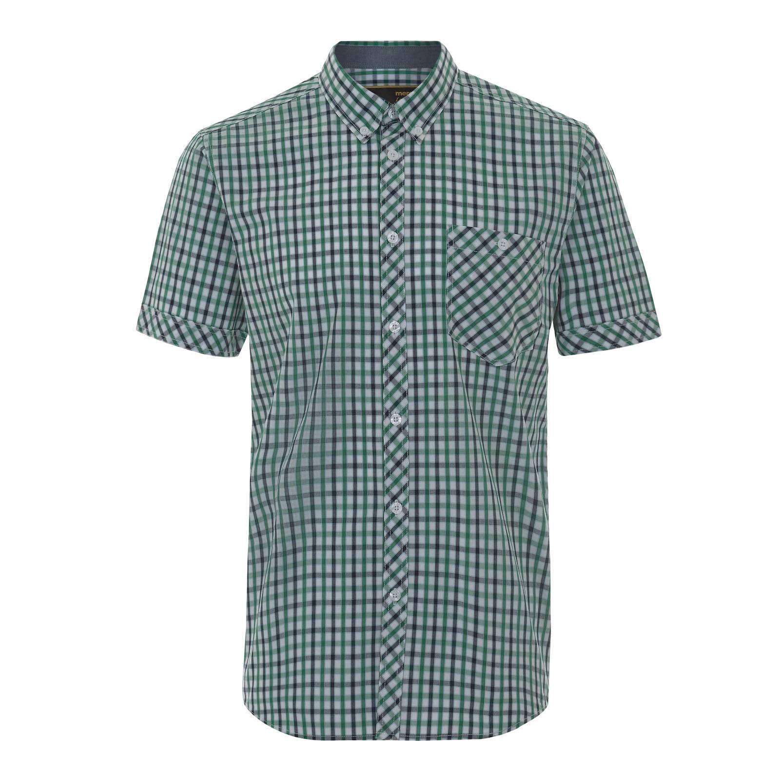 Рубашка JekyllРубашки<br><br><br>Артикул: 1515111<br>Материал: 65% полиэстер, 35% хлопок<br>Цвет: зеленый<br>Пол: Мужской