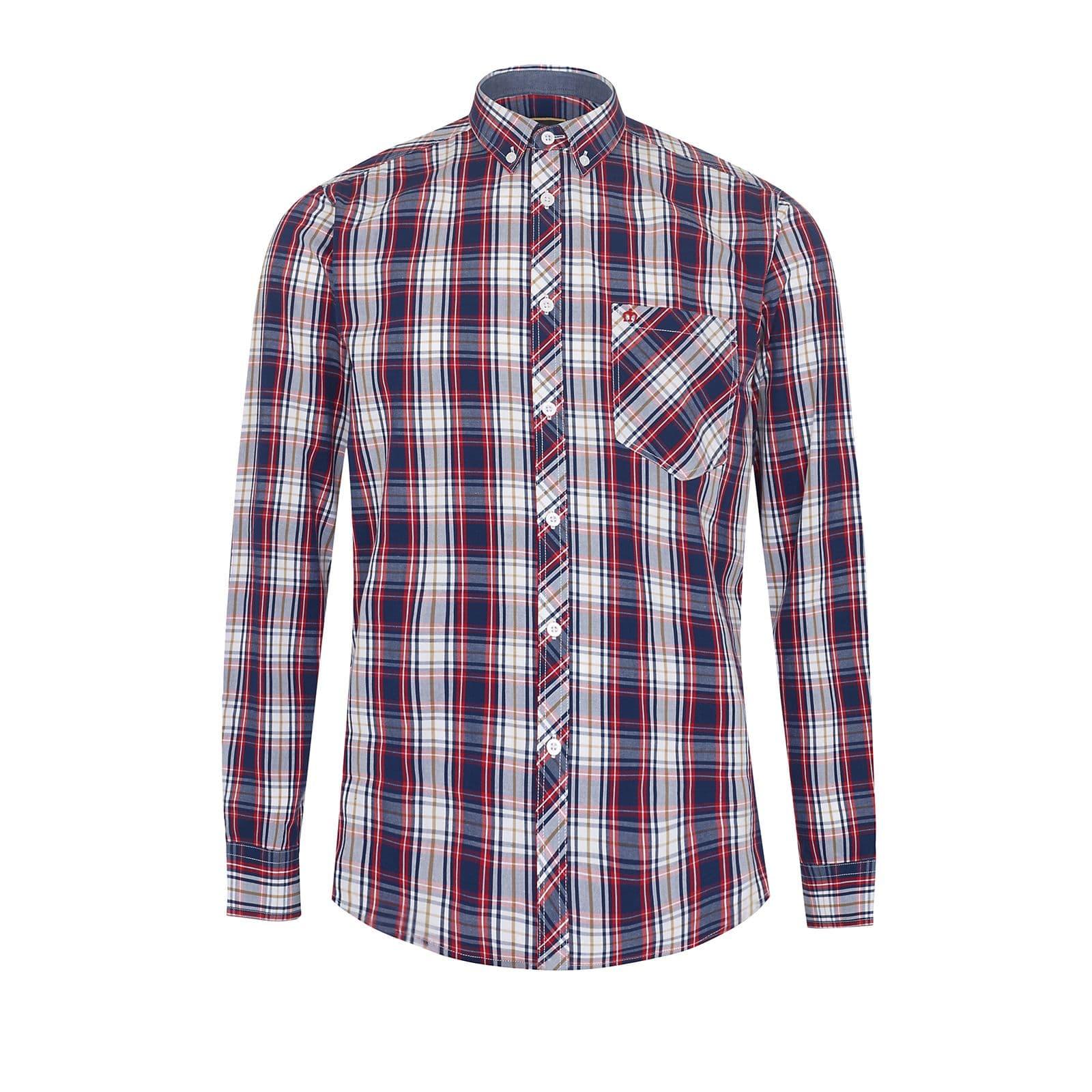 Рубашка FrankРубашки под заказ<br><br><br>Артикул: 1517210<br>Материал: 100% хлопок<br>Цвет: мультицветная клетка<br>Пол: Мужской