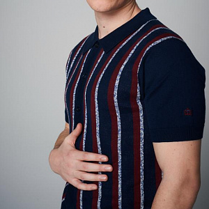 Wilmot Knitted Polo Shirt