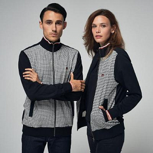 Willow dogtooth track top